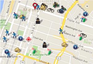Jan 2016 Crime Map (spotcrime.com)