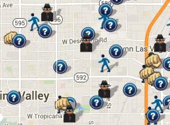 February 2016 Crime Map (spotcrime.com)