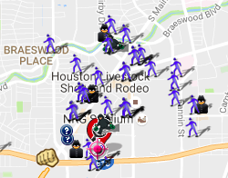 September 2016 Crime Map (spotcrime.com)