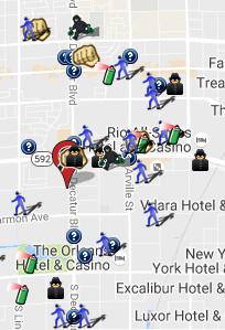 October 2016 Crime Map (spotcrime.com)