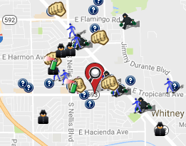 November 2016 Crime Map (spotcrime.com)