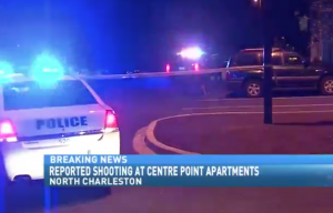 Shooting Injures 1 at Centre Pointe Apartments.