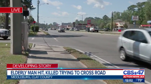 Middleburg Pedestrian Killed Attempting to Cross Street.