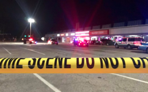 Shooting at Player's Vape Leaves Two Injured.