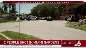 Deondre McDuffy, Samuel Streeter, Injured in Miami Gardens Apartment Complex Shooting.