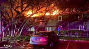 Austin Apartment Fire Leaves Two People Dead.