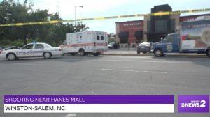 Julius Sampson Jr. Shot and Killed at Hanes Mall Restaurant.