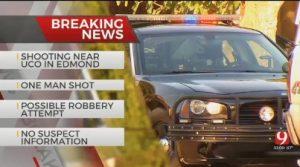 University Village Apartments Shooting, Edmond, Leaves One Injured.
