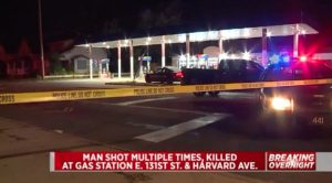 Cleveland, OH Gas Station Shooting Leaves One Man Dead.