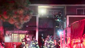 Verona Apartments Fire, Littleton, CO Leaves One Person Injured.