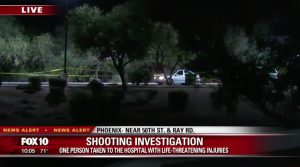 Hotel Shooting in Ahwatukee Foothills area of Phoenix, AZ Leaves One Man with Critical Injuries.