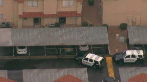 Mesa, AZ Apartment Complex Shooting Leaves One Man Injured.