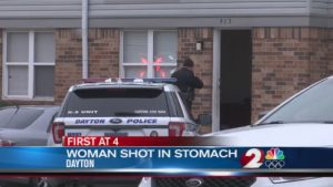 Dayton, OH Apartment Complex Shooting on Summit Square Drive Leaves One Woman Injured.