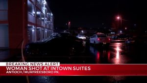 Antioch, TN Motel Shooting Leaves One Woman Critically Injured.