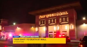 Sherwood Mall Shooting in Stockton, CA Leaves One Teen Boy Fatally Injured, One Other Wounded.