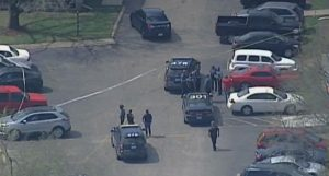Kansas, MO Apartment Complex Shooting Leaves One Person Injured.