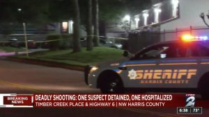 Houston, TX Apartment Home Invasion Shooting Leaves One Person Fatally Injured.