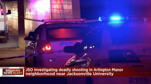 University Town Homes Complex Shooting, Jacksonville, FL, Claims Life Of One Man.