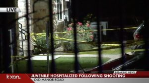 Walnut Creek Apartments Drive-By Shooting, Austin, TX, Leaves Juvenile Injured.