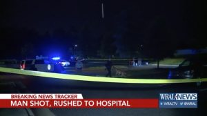 Village at Town Center Apartment Complex Shooting, Raleigh, NC, Injures One Man.