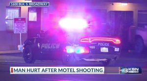Wichita, KS Motel Shooting Leaves Innocent Bystander Injured.