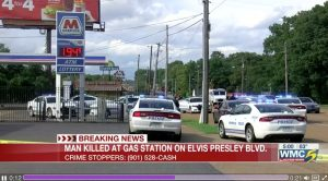 Memphis, TN Gas Station Shooting Fatally Injures One Man.