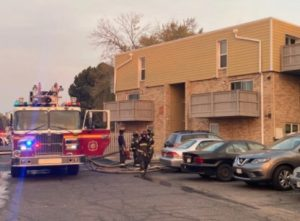 Northglenn, CO Apartment Fire Leaves Three People Hospitalized.