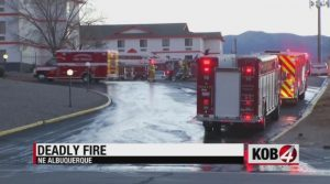 Albuquerque, NM Motel Fire Claims Life of One Person.