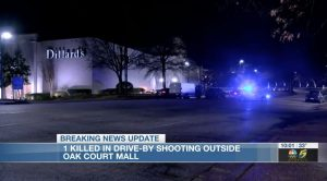 Oak Court Mall Parking Lot Shooting in Memphis, TN Claims Life of One Man.