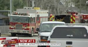 Silvertree Senior Apartments Fire in Jacksonville, FL Claims Life of One Man.