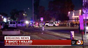 Ahmad Thornton Losses Life in Phoenix, AZ Nightclub Shooting; Six Other People Injured.