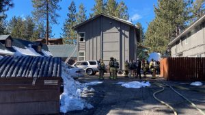 South Lake Tahoe, CA Apartment Fire Claims the Life of One Person.