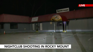 James Blossom Injured in Rocky Mount, NC Nightclub Shooting.