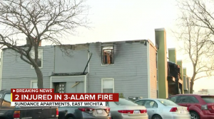 Wichita, KS Apartment Complex Fire Leaves Two People Critically Injured.