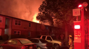 Columbia Meadows Apartments Fire in Columbia, TN Injures Three People, One Critically.