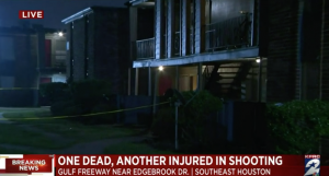 Houston, TX Apartment Complex Alleged Home Invasion and Shooting Claims One Life, Injures One Other.