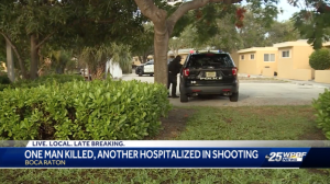 Dixie Manor Apartments Shooting in Boca Raton, FL Claims One Life, Injures One Other.