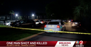 Rosala West Apartments Shooting in Orlando, FL Fatally Injures One Man.