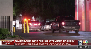 Teen Injured in Houston, TX Apartment Complex Shooting/Robbery.