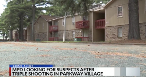 Dogwood Trace Apartments Shooting in Memphis, TN Injures Three People.