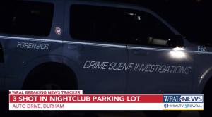 Luna Night Club Shooting in Durham, NC Injures Three People.