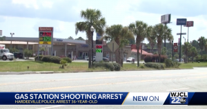 Octane Gas and Food Mart Shooting in Hardeeville, SC Leaves One Person Injured.