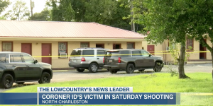 Ra'shod Arkeem Washington-Moody Fatally Injured in North Charleston, SC Motel Shooting; One Other Person Injured.